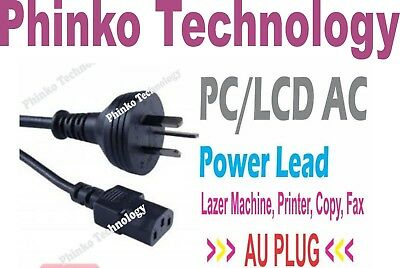 *Brand New* AC Power Cord Lead 3 Pin for PC, LCD, XBOX 360 & PS3