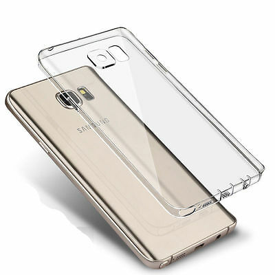 Ultra Thin 0.3mm Clear Rubber Soft TPU Cover Case For Samsung Galaxy S7/S7 Edge