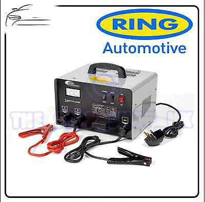 Ring 12v/24v 35amp Bench Battery Charger Starter RCBT35