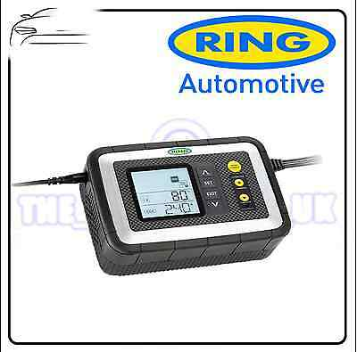 Ring Multi Stage Fully Automatic SmartCharger 12A 12V DC RSC612