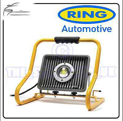 Ring 50W COB LED Worklight Lamp 3200 Lumens 3m of cable RWL50
