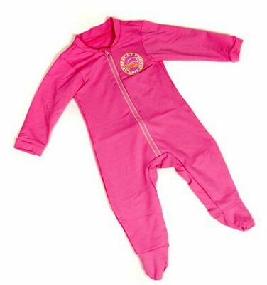 Jakabel Baby UV Sun Protection Romper - Pink - 0 - 12m