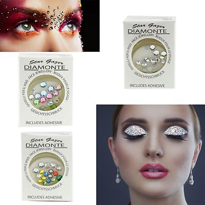 Stargazer Face And Body Diamond Glitter Party Gems In All Bright Colours