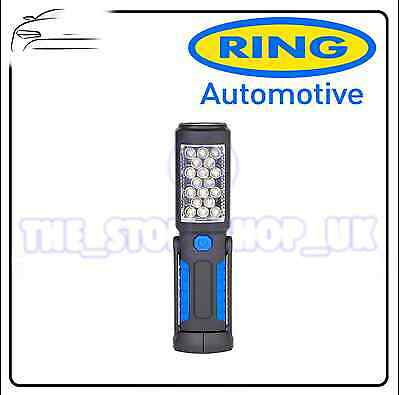 Ring MINI LED LAMP MAGNETIC MULTI-ANGLE INSPECTION WORK LAMP LIGHT TORCH RIL82