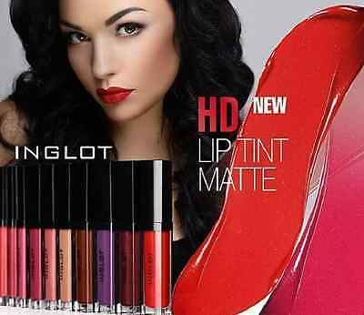 INGLOT HD Lip Tint MATTE Liquid Lipstick, NO SMUDGES 100% Authentic All colours