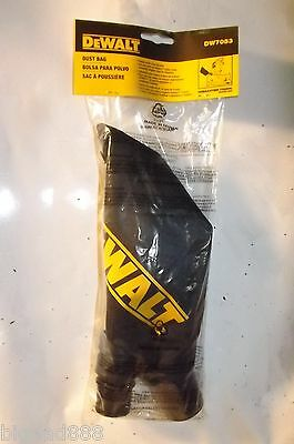 NEW DEWALT DW7053 Universal Dust Bag For DEWALT Miter Saws