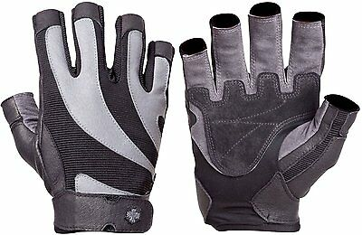 Harbinger Bioflex Weightlifting/Workout Gloves (Gray), Multiple Sizes Available