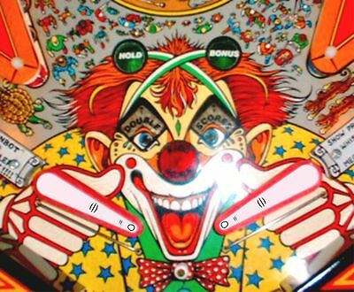 Finger Flipper Bat Topper MOD for Williams Cyclone pinball machine