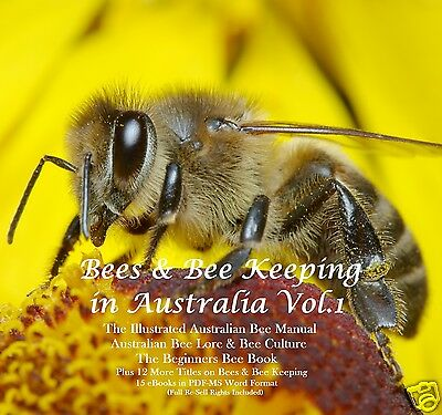 CD - Beekeeping Vol.1 - 15 eBooks (Resell Rights)