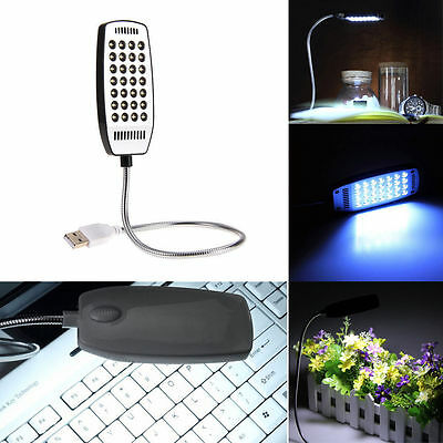 New Mini Flexible USB 28 LED Lamp Light for Laptop Notebook Computer PC Reading