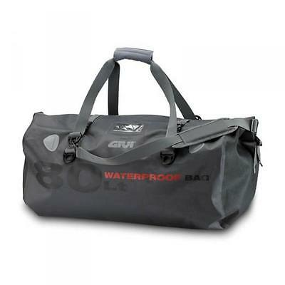 Givi WP401 80 Litre Waterproof Motorcycle Roll Bag Tail Pack