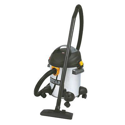 Titan TTB351VAC 1400W 20Ltr Wet & Dry Vacuum Cleaner 240V ** PURCHASE TODAY **