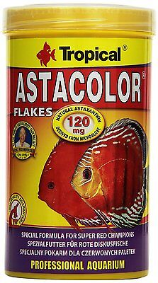 Tropical Astacolor 100ml,500ml Colour-enhancing flake food for discus