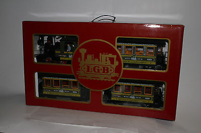 Lgb G Scale #20533 Limited Edition Schweiger Set, Green, Excellent, Boxed