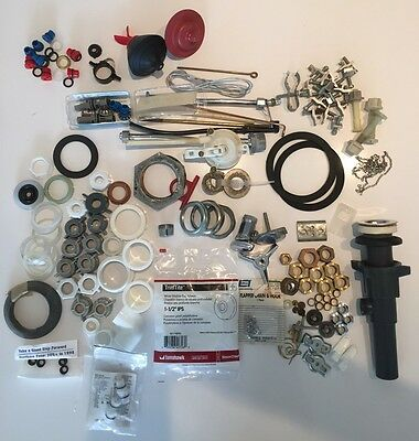 Wholesale Lot Of Assorted Plumbing Parts And Accessories