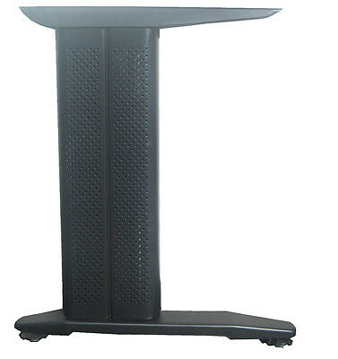 2pc/set H style black metal table legs w/ cover for home/office desk, legs only