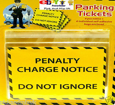 6 Fake Penalty Parking Tickets Joke  Charge Fine Pranks