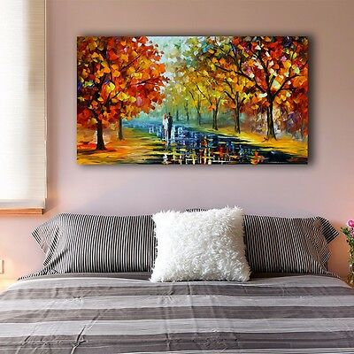 40×70×3cm Framed Canvas Prints Romantic Day Love Wall Art Home Decor Painting