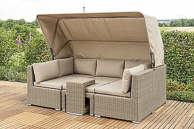 rattan sitzgruppe hochlehner top lounge set sofa sessel. Black Bedroom Furniture Sets. Home Design Ideas