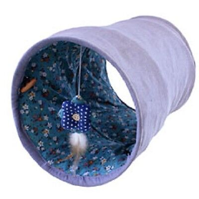Happy Pet Tabby Chic Play Cat Tunnel