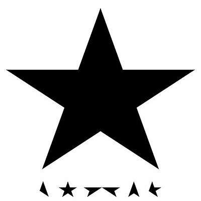 Parche imprimido /Iron on patch, Back patch / David Bowie - Blackstar