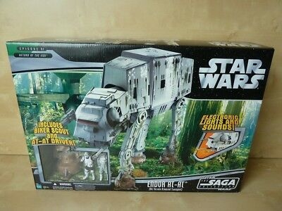 TSC140 Star Wars SAGA COLLECTION ENDOR AT-AT 2006 MISB