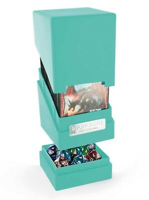 Ultimate Guard - Monolith Deck Case 100+ Turquoise - Gaming Box - Deckbox