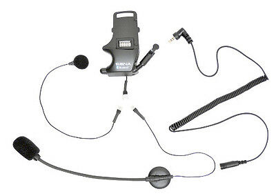 Sena SMH10 Helmet Clamp Kit w/ Wired Boom/Microphone & Earbuds Adapter SMH-A0304