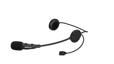 Sena 3S Bluetooth Communication System w/ Boom Microphone 3S-B for Open Face