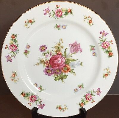RARE HARMONY HOUSE China DRESDANIA Pattern DINNER PLATE 10""