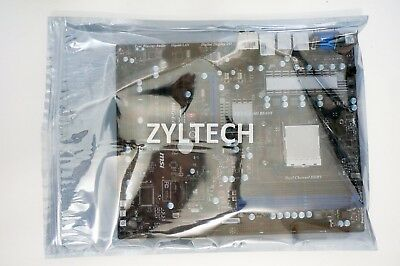 "12"" X 16"" Motherboard MB Anti Static Bag ESD Metal Silver Resealable ZipLock ATX"