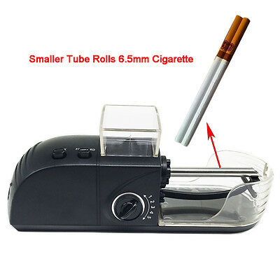 Electric Automatic Cigarette Rolling Machine Tobacco Roller Injector 6.5mm tube