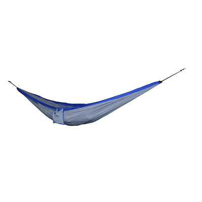 Travel Camping Outdoor Nylon Fabric Double Hammock Parachute Bed Swinging