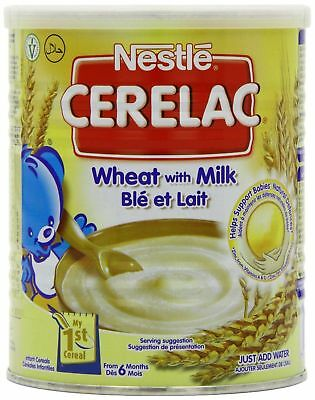 Nestle Cerelac Wheat with Milk 400g (Pack of 4)