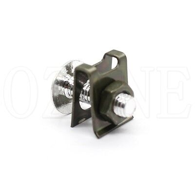 ONE Fairing Bolts Clips Spring Nuts silver