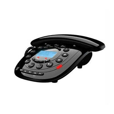 New Binatone Idect Carrera Classic Plus Corded Telephone With Answer Machine