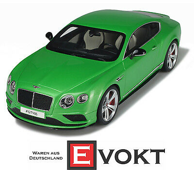 2015 Bentley Continental GT V8S Coupe green metallic 1:18 GT Spirit GT077