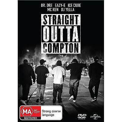 Straight Outta Compton (DVD) NEW + SEALED