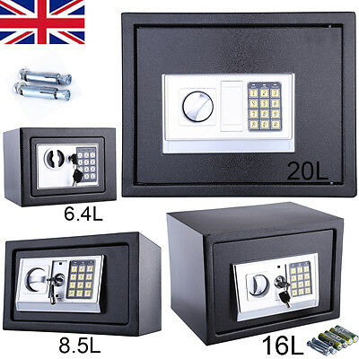 Secure Digital Steel Safe Key / Electronic Security Home Office Money Safety Box