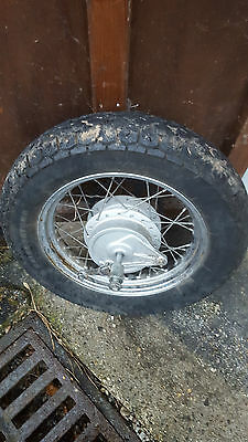 Roue Arriere Complete 125 Honda Shadow Vt