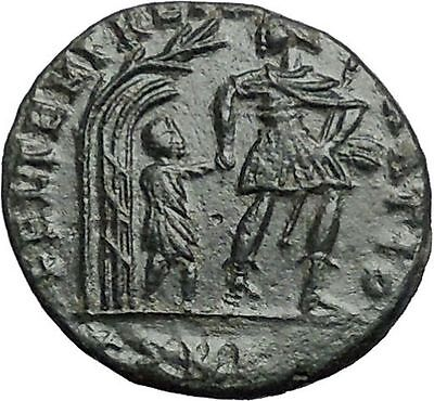 Constans son of Constantine the Great 348AD  Ancient Roman Coin i54846