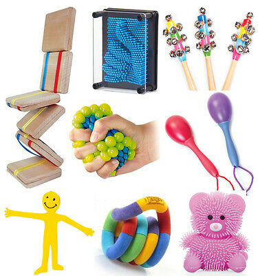 Large Sensory Toys Kit Set - Kids Special Needs Autism - Fidget Kit - Fiddle Kit