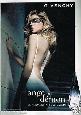 Publicité advertising 2007 Parfum Givenchy Ange ou demon