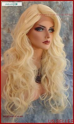Lace Front Lace Front C Part Layered Curly Wig Color 613 Gorgeous Sexy 298