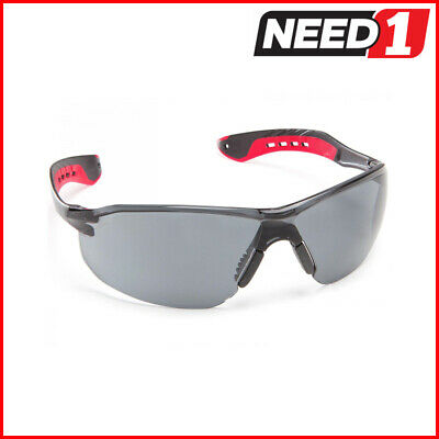 6 X Force360 Glide Smoke Lens Safety Spectacle Glasses