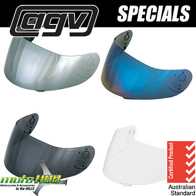 AGV K-3,K-3 BASIC,K-4 Replacement Visor Shield Motorcycle Helmet Road Bike