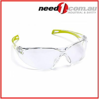 6 X Force360 Runner Clear Lens Safety Spectacle Glasses