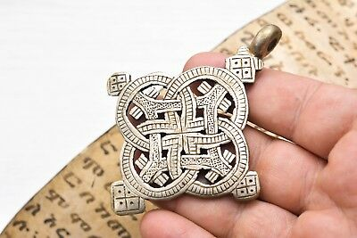 Pendant CROSS Retro Ancient Byzantine MEDIEVAL Coptic XMAS DEAL