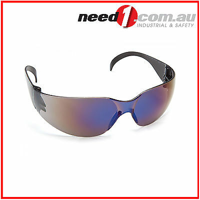 6 X Force360 Radar Blue Mirror Lens Safety Spectacle Glasses