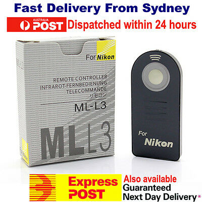 ML-L3 IR Wireless Infrared Shutter Release Remote Control for Nikon DSLR mll3